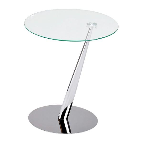 Clubtisch Tutti Glas Verchromtes Metall Clubtische Wohnzimmer
