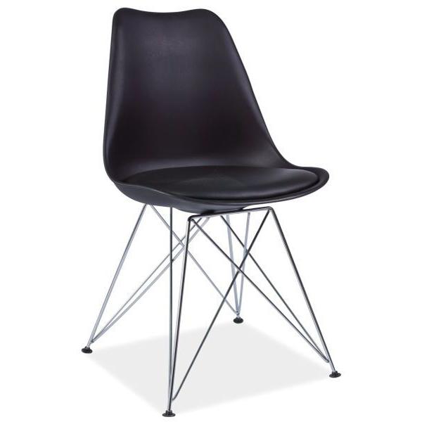 Stuhl tim schwarz skandinavisch st hle esszimmer m bel online kaufen - Stuhl skandinavisch ...