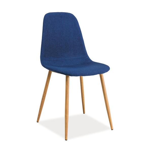 Stuhl fox dunkelblau skandinavisch st hle esszimmer m bel online kaufen - Stuhl skandinavisch ...
