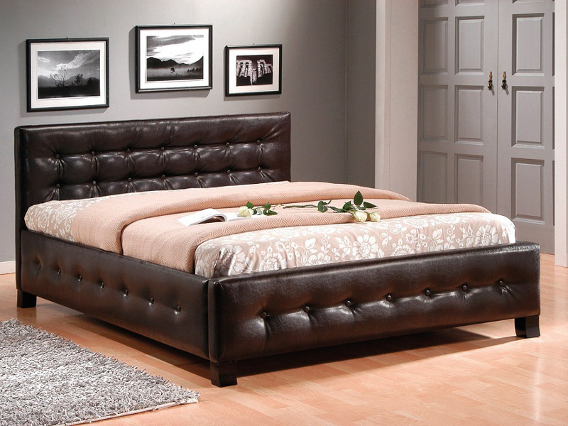 bett barcelona 160x200 weiss loft industrial design. Black Bedroom Furniture Sets. Home Design Ideas