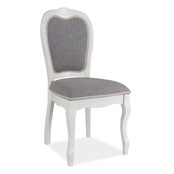 stuhl pr sc grau weiss klassisch st hle esszimmer m bel online kaufen. Black Bedroom Furniture Sets. Home Design Ideas