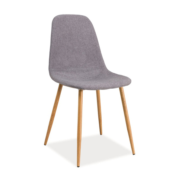 Stuhl fox grau skandinavisch st hle esszimmer m bel online kaufen - Stuhl skandinavisch ...